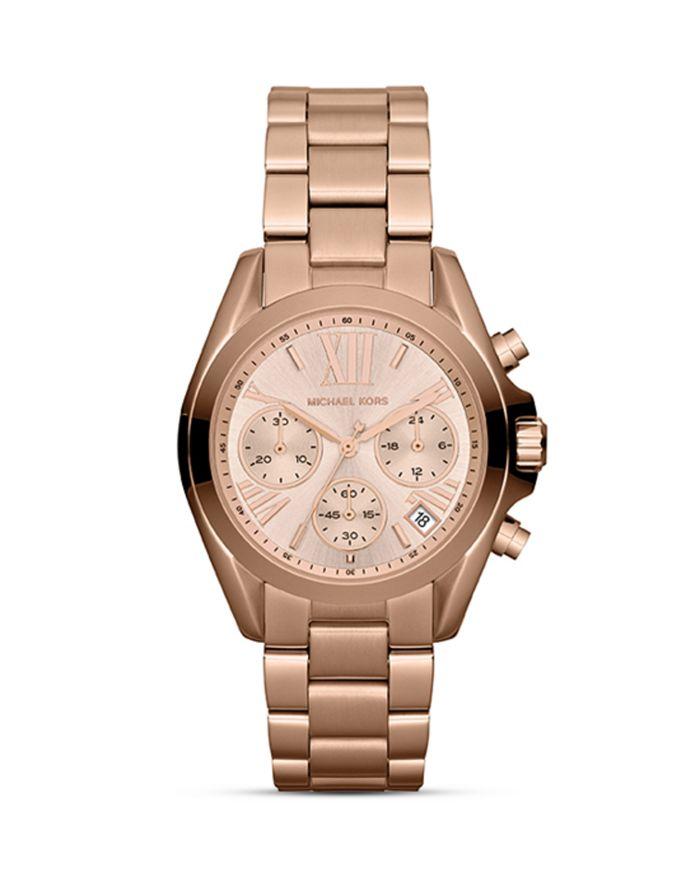 Michael Kors - Mini Bradshaw Chronograph Watch, 35mm