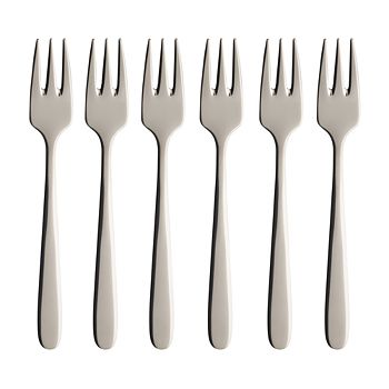Villeroy & Boch - Daily Line Pastry Forks, Set of 6