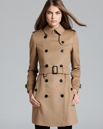 Buckingham Breasted Burberry Belted Double Woolcashmere Coat dqtwwpPFxH