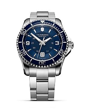 Victorinox Swiss Army Maverick Gs Bracelet Watch, 43mm