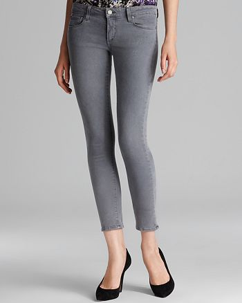 PAIGE - Skyline Ankle Peg Jeans in Cloud Cover