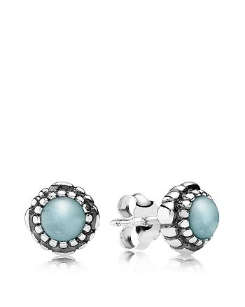 c04941460 Pandora March Birthstone Stud Earrings - Best All Earring Photos ...