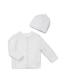 Little Me Unisex Cable-Knit Cardigan & Hat Set - Baby - Bloomingdale's_0