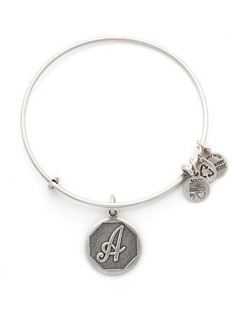 $Alex and Ani Initial Bangle - Bloomingdale's