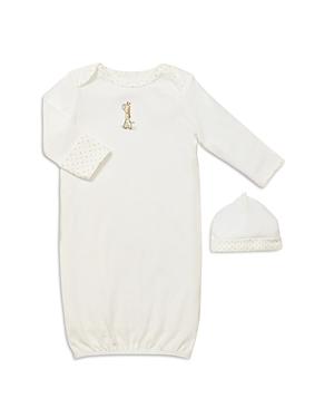 Little Me Unisex Giraffe Gown & Hat - Baby-Kids