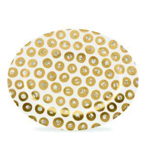 Michael Wainwright Tempio Luna Gold Oval Platter