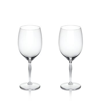 Lalique - 100 Points Bordeaux Glass, Set of 2
