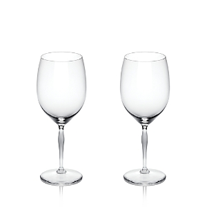 Lalique 100 Points Iced Beverage Glass, Set of 2
