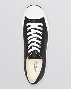 Converse - Men's Jack Purcell Leather Sneakers