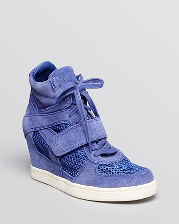 Ash - Lace Up Wedge Sneakers - Cool