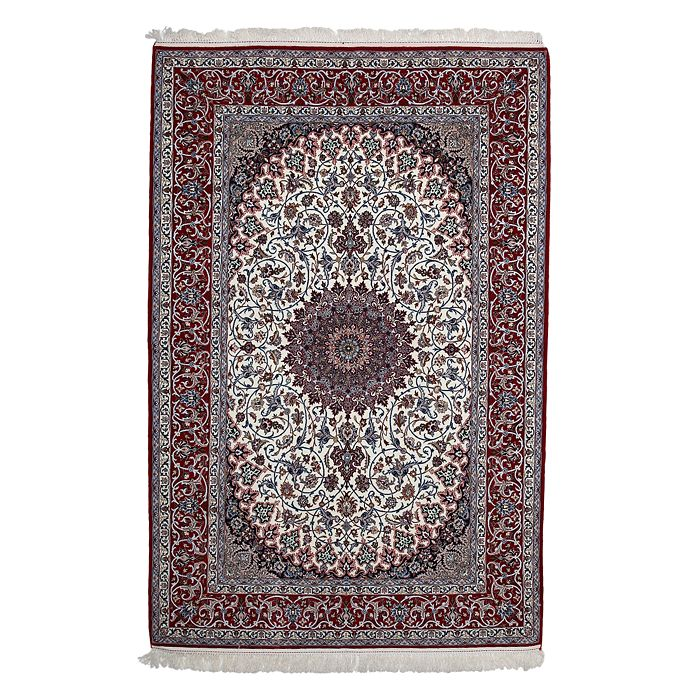 "Bloomingdale's - Isfahan Collection Persian Rug, 5'4"" x 8'"