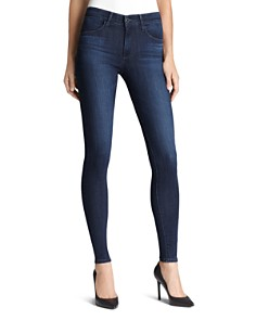 AG - The High Rise Farrah Skinny Jeans in Brooks