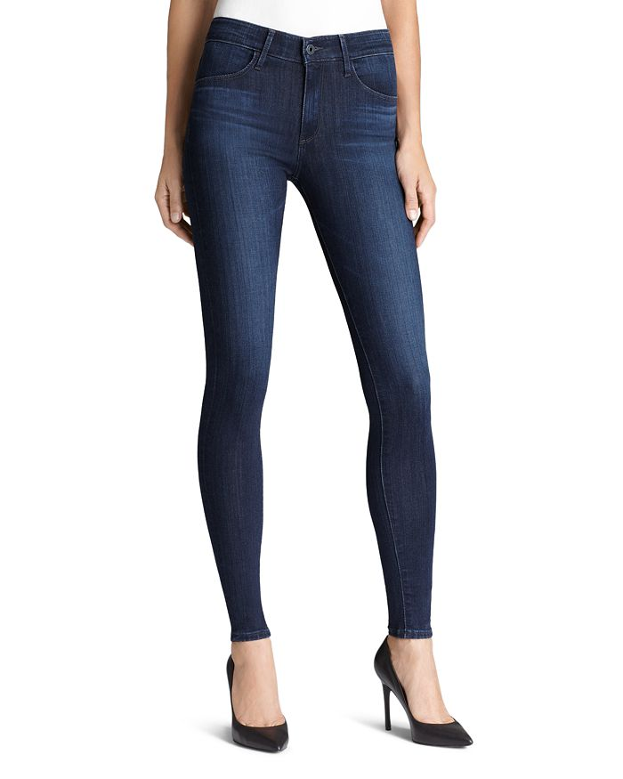 fca22a897f7c AG Jeans - Farrah High Rise Skinny in Brooks | Bloomingdale's