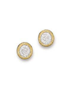 Diamond Cluster Stud Earrings in 14K Yellow Gold, .30 ct. t.w. - 100% Exclusive - Bloomingdale's_0