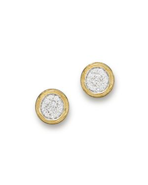 Diamond Cluster Stud Earrings in 14K Yellow Gold, .30 ct. t.w. - 100% Exclusive