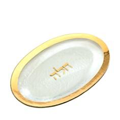 Annieglass - Judaica Challah Platter, Gold