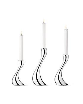 Georg Jensen - Cobra Candleholder, Set of 3