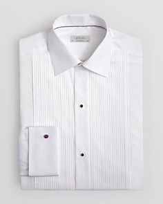 Eton - Classic Pleated Bib Tuxedo Shirt - Regular Fit