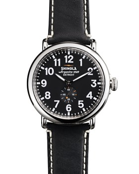 Shinola - The Runwell Black Watch, 47mm