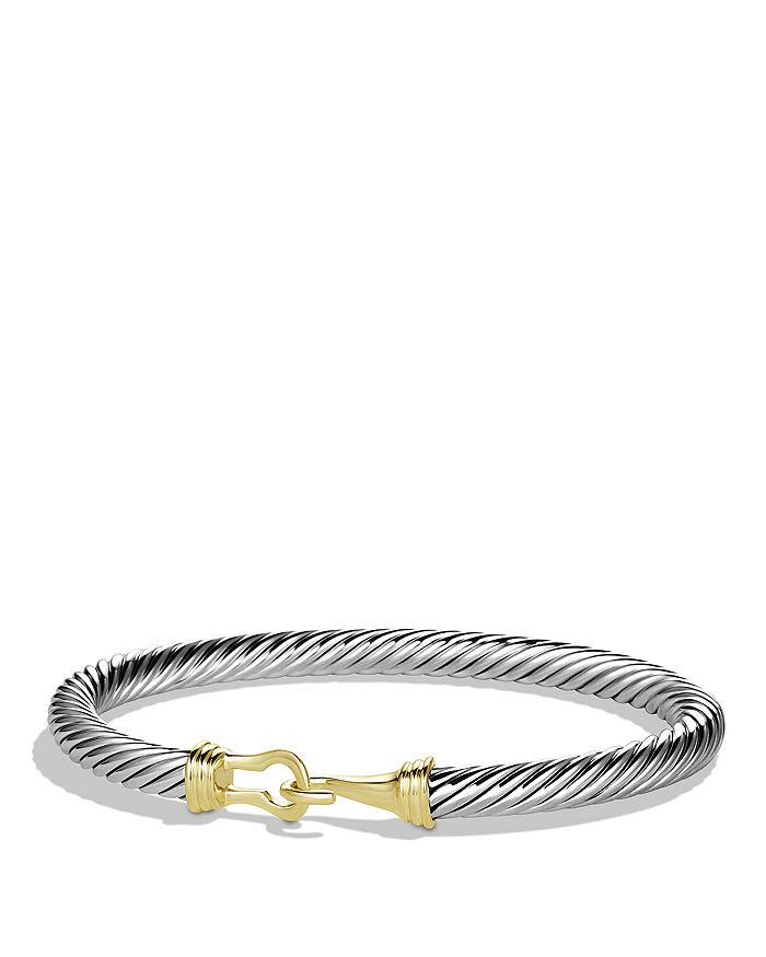 David Yurman - Cable Buckle Bracelet with Gold