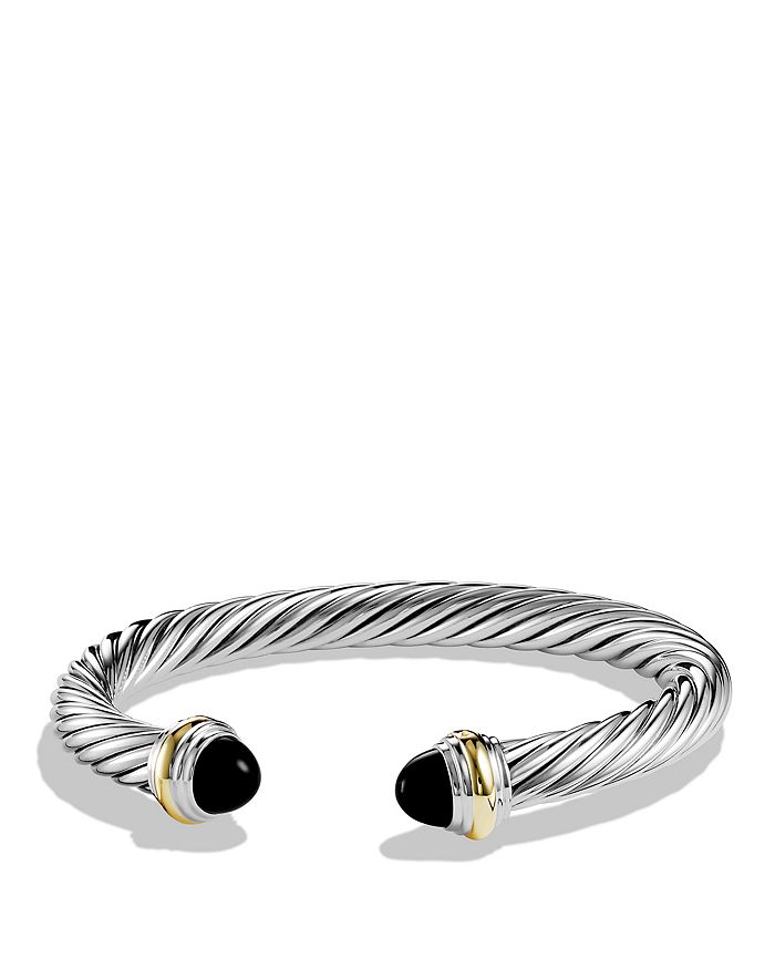 David Yurman - Cable Classics Bracelet with Gemstone and Gold