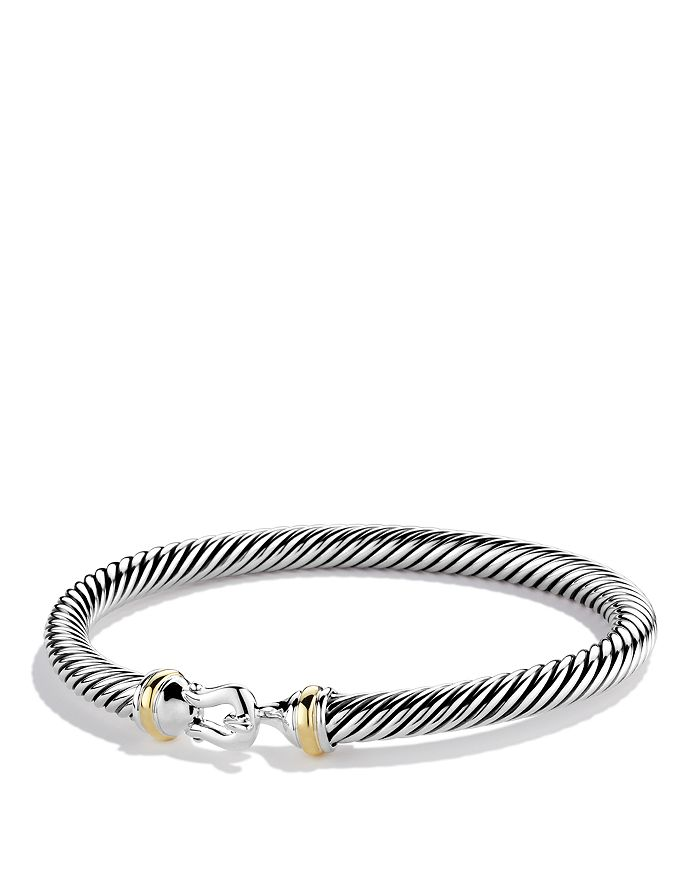 David Yurman Cable Buckle Bracelet With