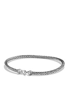 David Yurman - Cable Buckle Bracelet with Diamonds