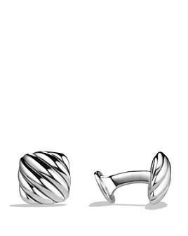 David Yurman - Cable Cushion Cufflinks