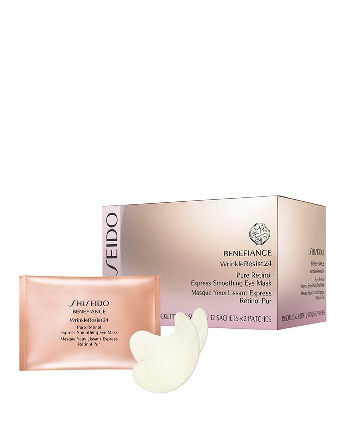 Shiseido - Benefiance WrinkleResist24 Pure Retinol Express Smoothing Eye Mask