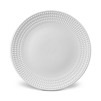 L'Objet - Perlee White Round Platter