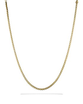 David Yurman - Medium Box Chain in Gold