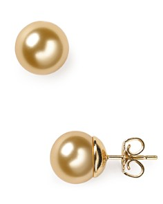 Majorica Simulated Pearl Stud Earrings - Bloomingdale's_0