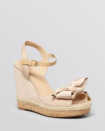 Tory Burch - Platform Wedge Sandals - Penny