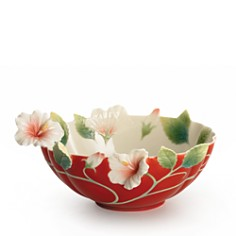 Franz Collection - Island Beauty Hibiscus Flower Bowl