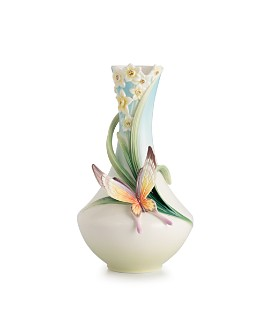 Franz Collection - Papillon Butterfly Small Vase