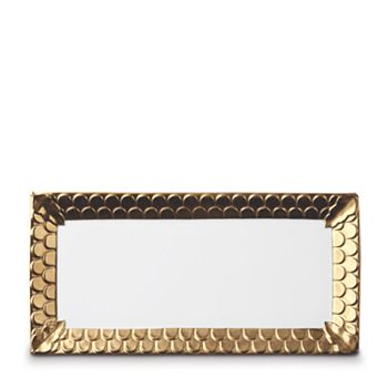 "L'Objet - Aegean Rectangular Platter,  15.5"""