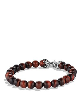 David Yurman - Spiritual Beads Bracelet with Red Tiger Eye