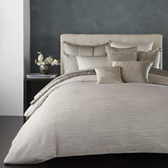 Donna Karan Reflection Silver Bedding Collection - Bloomingdale's_0