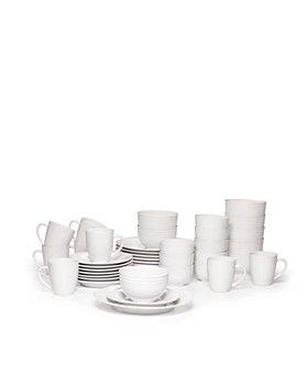 Gourmet Basics by Mikasa - Spiral 40 Piece Dinnerware Set