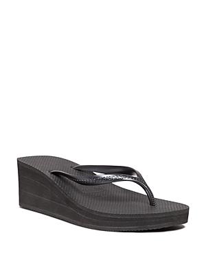 havaianas Platform Wedge Flip-Flops - High Fashion