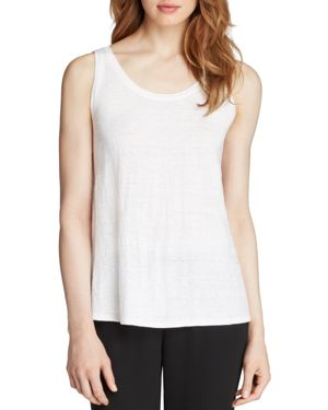 Eileen Fisher System Scoop Neck Long Tank