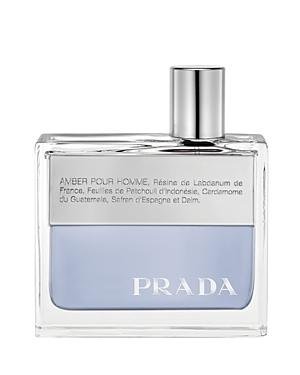 The first men\\\'s fragrance from Prada. A magnetic amber that is daring and fresh, yet abstract and mysterious.