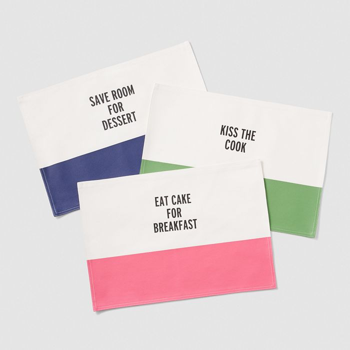 kate spade new york - Kate Spade Food For Thought Placemat