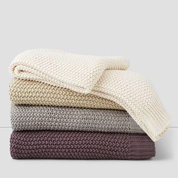 Oake - Chunky Knit Throw - 100% Exclusive
