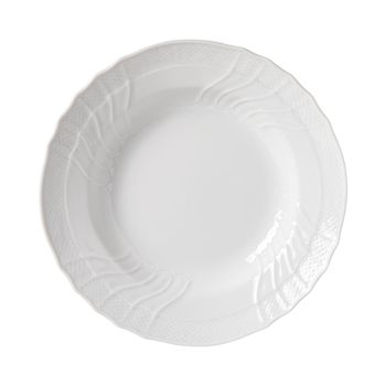 Richard Ginori - Vecchio White Rimmed Soup Plate, Large