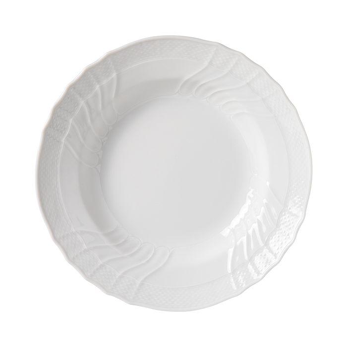 Richard Ginori - Vecchio White Rimmed Soup Plate, Large