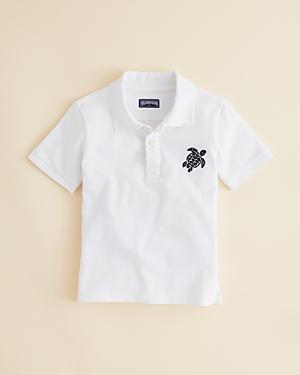 Vilebrequin Boys Cotton Pique Regular Fit Polo Shirt