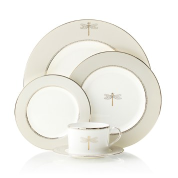 $kate spade new york June Lane Dinnerware - Bloomingdaleu0027s  sc 1 st  Bloomingdaleu0027s : dragonfly dinnerware - pezcame.com