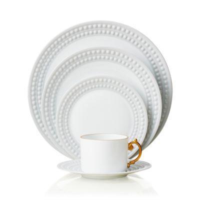 """Perlee White Oval Platter, 14"""" x 7"""""""