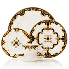 Marchesa by Lenox - Baroque Night 5-Piece Place Setting